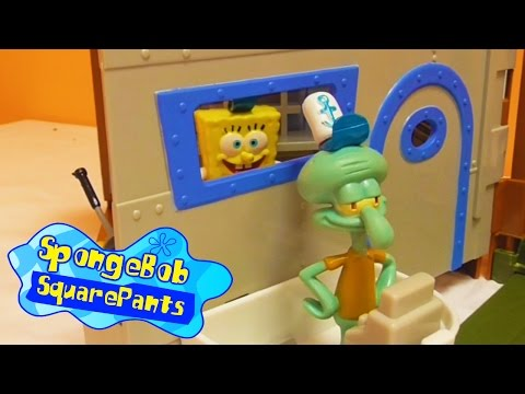 Little Kelly - Toys & Play Doh : SPONGEBOB KRUSTY KRAB (Bikini Bottom)