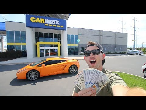 I took my Lamborghini to CarMax: This is the cash they offered me