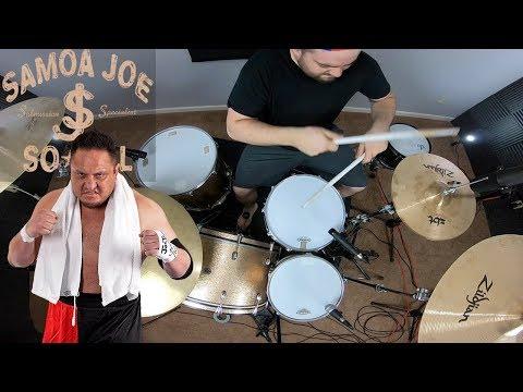 WWE Samoa Joe Theme Song Destroyer Drum Cover