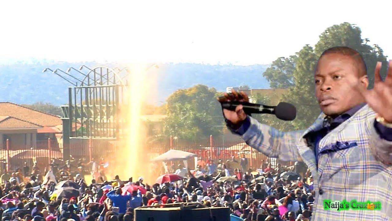 Download Holy Spirit Appears Live At ECG Church Crusade | Prophet Shepherd Bushiri Major 1