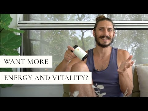 Want More Energy and Vitality?