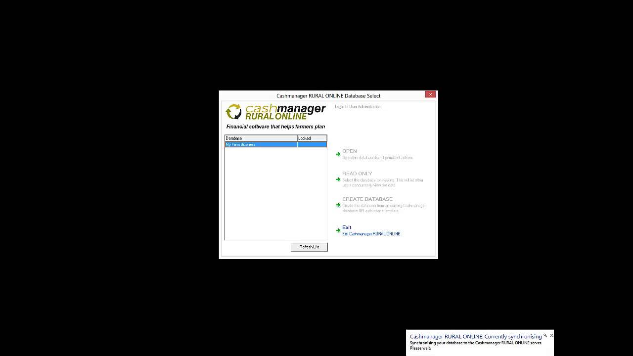 Cashmanager RURAL - How to Install Cashmanager RURAL ONLINE