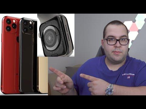 Neue Gerüchte zur Apple Keynote! iPhone 11 (PRO), Apple Watch Titanium