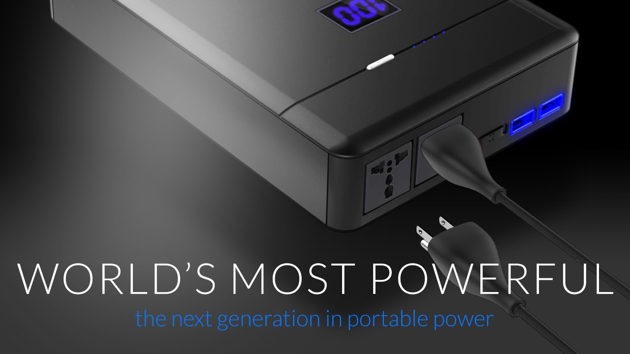 PLUG - The World's Most Powerful AC Power Supply | Indiegogo