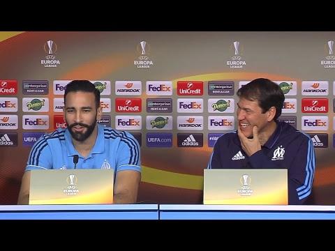La conférence de presse d'Adil Rami & Rudi Garcia | OM
