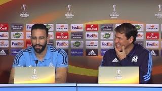 La conférence de presse d'Adil Rami & Rudi Garcia | OM - Salzbourg 🎙