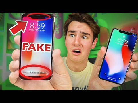 Thumbnail: $125 Fake iPhone X - How Bad Is It?