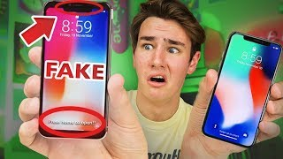 $125 Fake iPhone X - How Bad Is It? thumbnail