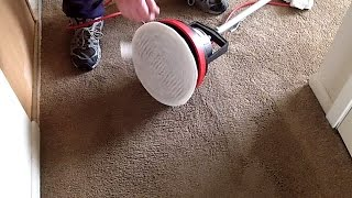 Oreck Orbiter And Attachments Cleaning Carpet