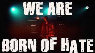 SUICIDAL ANGELS - Born of Hate (OFFICIAL LYRIC VIDEO)
