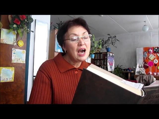 Изображение предпросмотра прочтения – ГалинаКарпун читает произведение «Але» М.И.Цветаевой