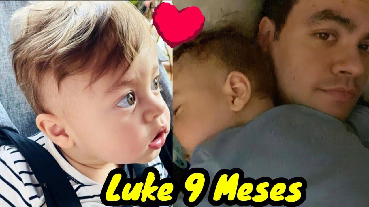 Luke O FILHO DO LUCCAS NETO FAZ 9 MESES 😘🥰😍