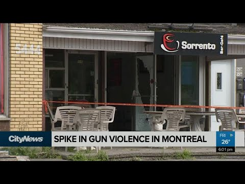 Spike in gun violence in Montreal