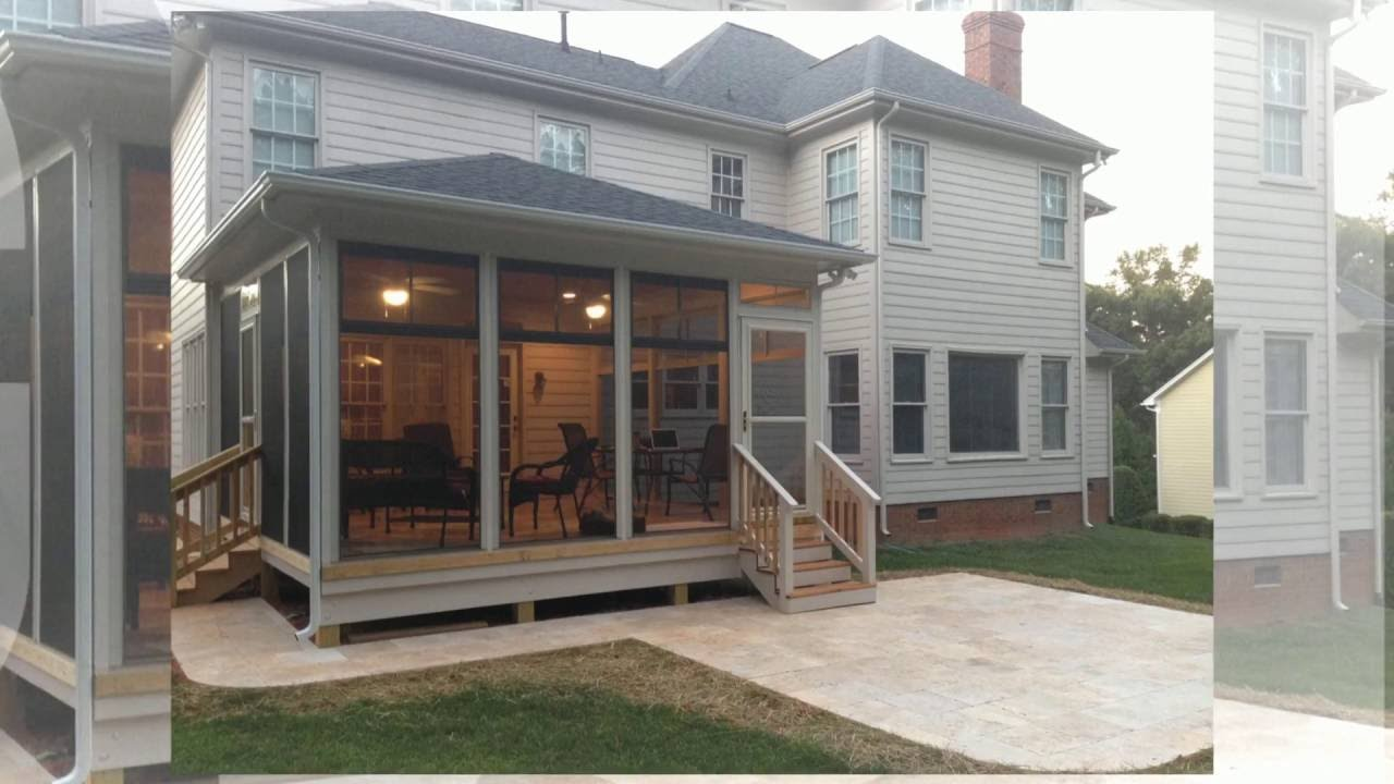 How to Choose from a Screened Porch 3 Season Room or Sunroom  YouTube