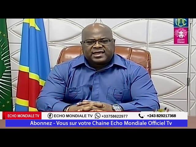 Coronavirus : Président Félix Tshisekedi interdit les écoles, Églises et universités pour 4 semaines