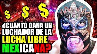 Cuánto gana un LUCHADOR de LUCHA LIBRE MEXICANA por lucha | ARENA MÉXICO | CMLL | Cuánto Gana