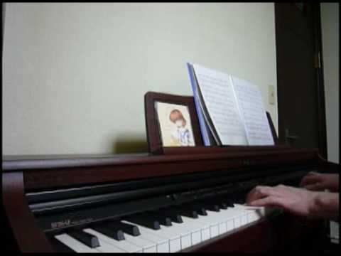 Clannad After Story Opening- Piano Version Of Toki Wo Kizamu Uta (時を刻む唄) On A Piano,