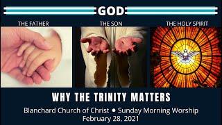 Blanchard Church of Christ, PA Sunday Worship - 2.28.21