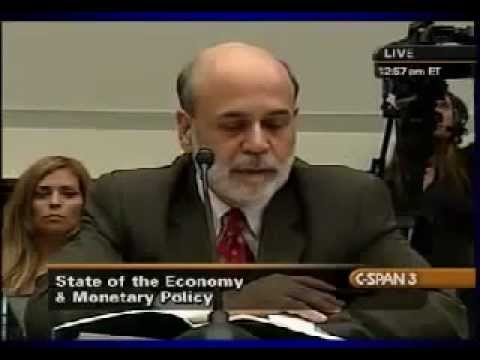 Ben Bernanke Explains Central Bank Liquidity Swaps