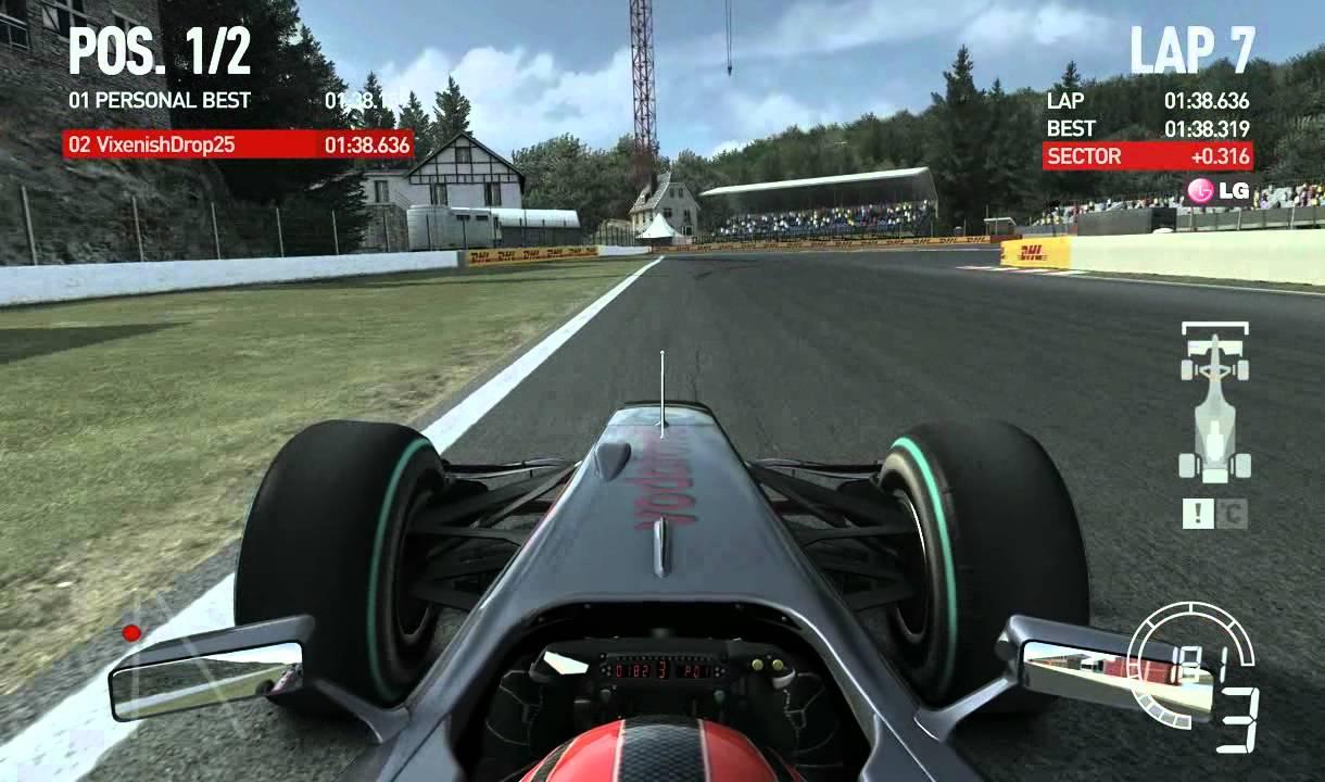 F1 2010 Spa - Belgium Time Trial With Car Setup. 1:38.211 ...