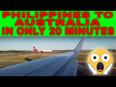 Manila To Australia In 20 Minutes