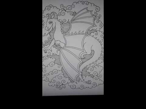 unicorns-and-mythical-creatures-adult-coloring-book