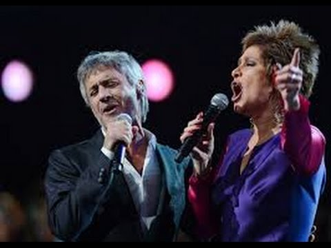 "YO NO TE PIDO LA LUNA ""Daniela Romo & Sergio Dalma"" HD LIVE {Miros Mar} ¸.•*¨*• ♪♫"