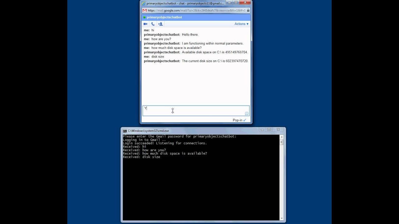 Creating a C#  NET Jabber Chatbot that Talks on Gmail with XMPP and