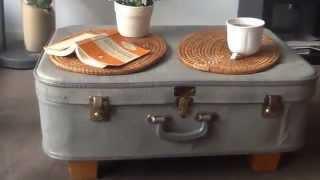 Diy Suitcase Coffe Table