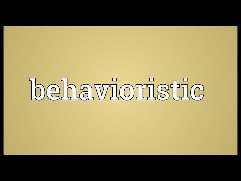 Header of behavioristic