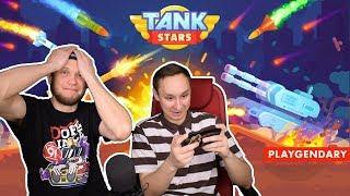 TANK STARS - как Червячки, только Танки!