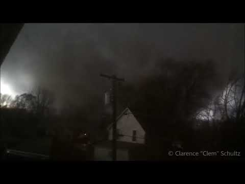 Direct Hit by a Tornado (Caught on Camera)
