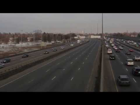 Motorcade for Sgt. Andrew Joseph Doiron, March 10, 2015- Toronto Observer News