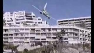 Avião Caindo no Mar