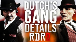Red Dead Redemption 2 - The Van Der Linde Gang Details!