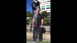 ALS Ice Bucket Challenge: Tim Cook and Michael Franti at Apple Inc.