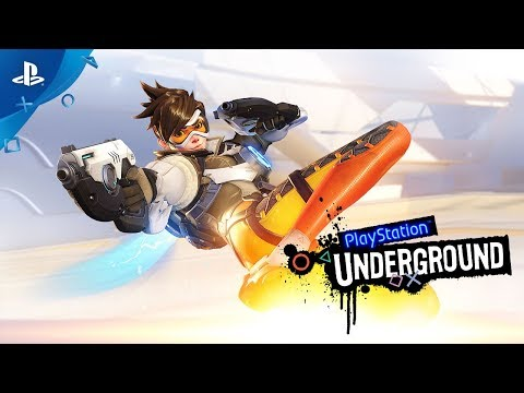 Overwatch PS4 Gameplay | PlayStation Underground