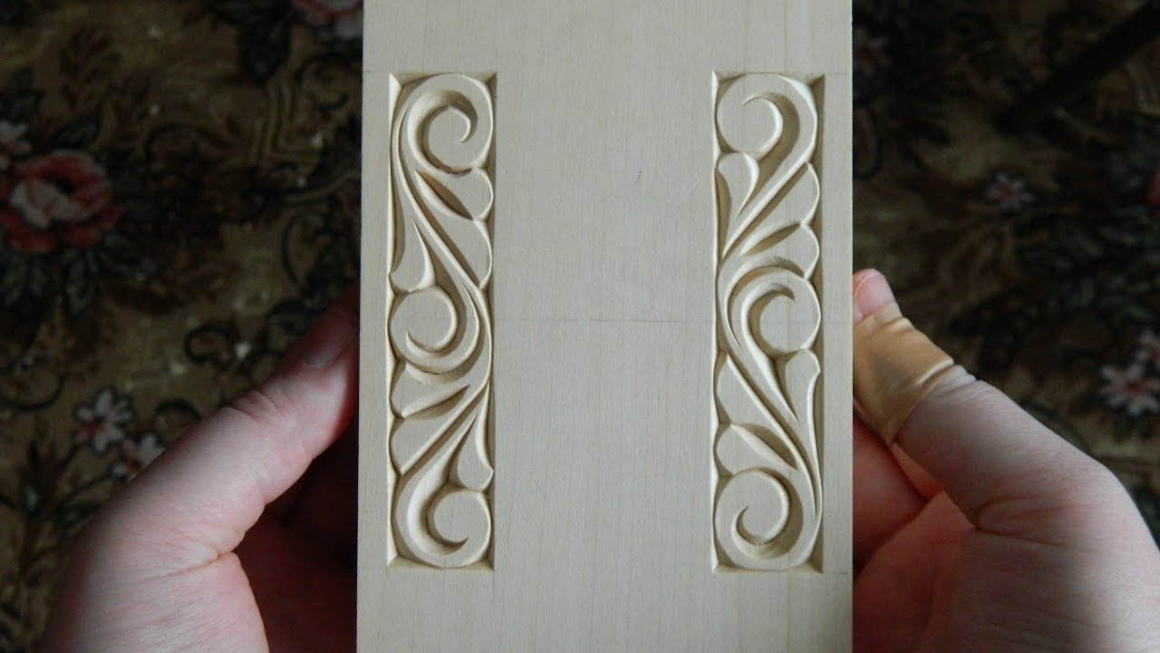 A mix of chip carving and relief youtube