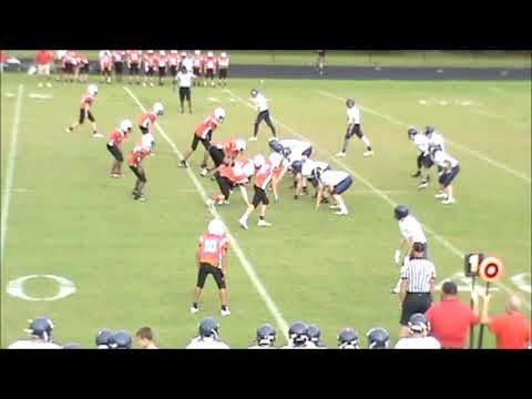 Bowdon Middle School vs Haralson County Middle School Football