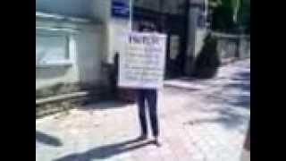 #Cavcaliuc, demisia! A protestat singură la Tighina 6