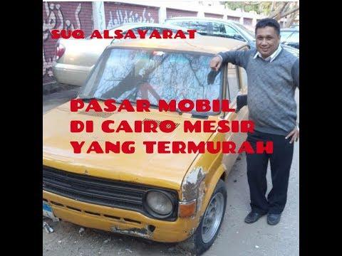 ''SUQ ALSAYARAT'', Pasar Mobil Murah di Cairo Mesir