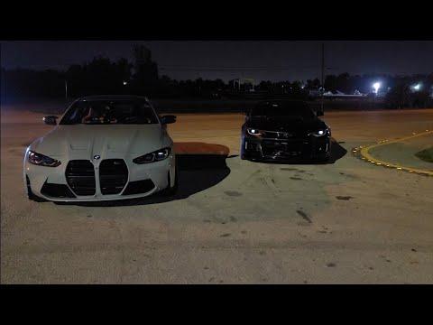 2021 BMW M4 Competition JB4 93 Vs 2018 Camaro ZL1 Intake