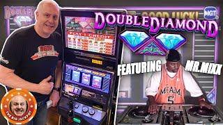 💎HUGE BET$ ✦ HUGE WIN 💎Double Diamond 3 Reel + Shoutout from DJ Mr. Mixx