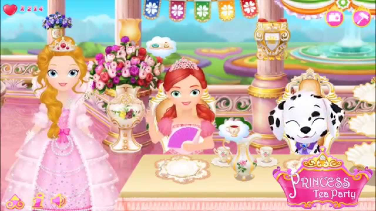 Image result for Princess Tea Party game