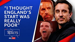 Gary Neville's Five Takeaways from England 0-0 Scotland | The Overlap Reacts