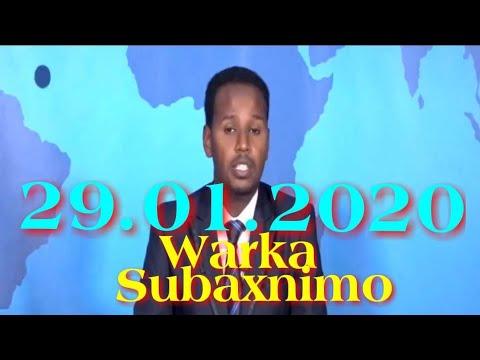 Warka Subaxnimo SNTV 29.01.2020