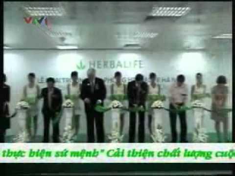 VTV 1 đưa tin về Herbalife Việt Nam