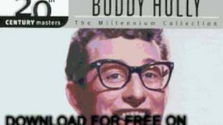 buddy holly - That'll Be the Day - The Best of Buddy Holly t