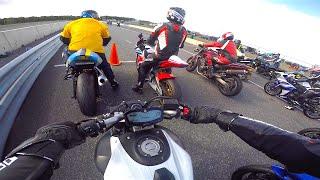 mt 07 fz 07 race track vs gsxr 1000 r1 zx10r s1000rr r6 cbr1000rr