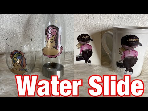 How To Use Clear Water Slide Decal Paper